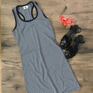 Calvin Klein Jeans racerback bodycon dress. NWOT.